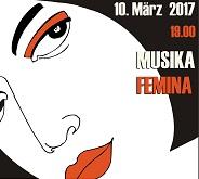 10. März um 19.00: Musika Femina